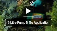 5 Litre Pump N Go Application