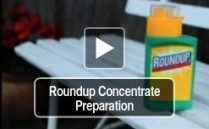 Roundup Concentrate Preparation